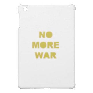 No More War Stencil iPad Mini Cover
