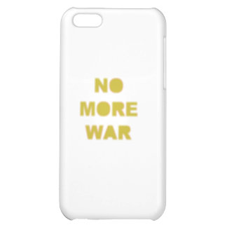 No More War Stencil iPhone 5C Covers