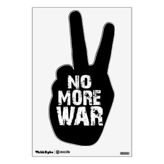 No More War Wall Sticker