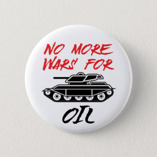 No More Wars for Oil Button
