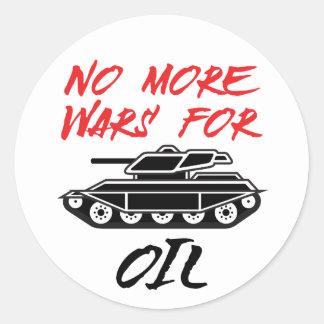 No More Wars for Oil Sticker