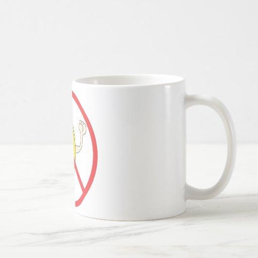 No More Yelling Bananaheads! Classic White Coffee Mug