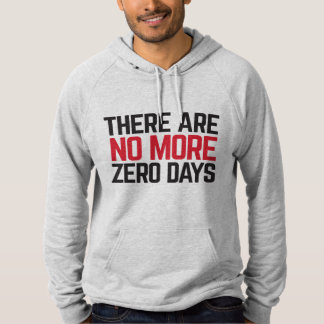 No More Zero Days Men's Hoodie