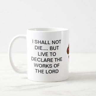 No moriré…. tazas de café