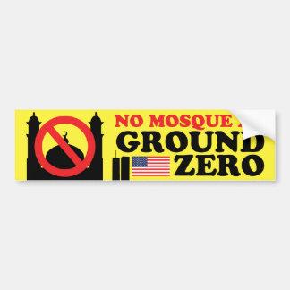 No Mosque 3 Bumper Sticker