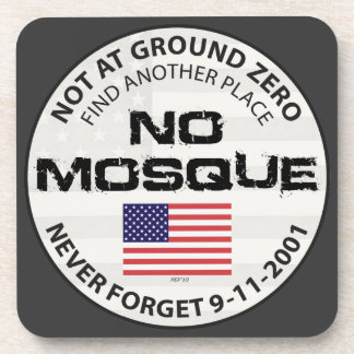 No Mosque At Ground Zero Drink Coaster