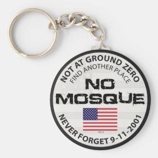 No Mosque At Ground Zero Keychain