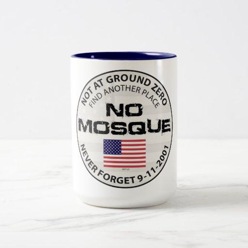No Mosque At Ground Zero Mugs