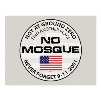 No Mosque At Ground Zero Postcard
