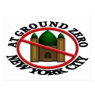 No Mosque At Ground Zero Postcard