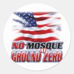No Mosque At Ground Zero Sticker
