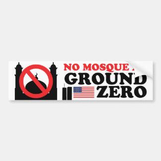 No Mosque Bumper Sticker