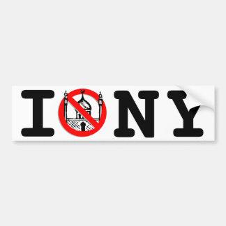 No Mosque NY Bumper Sticker