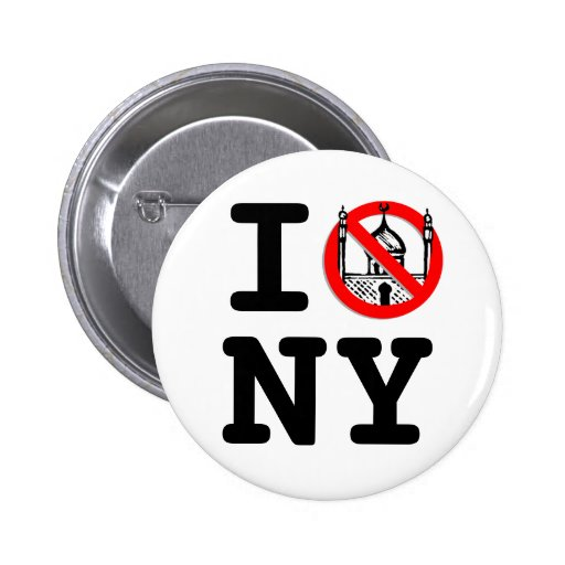 No Mosque NY Buttons