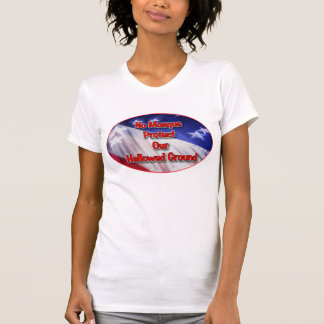 No Mosque Protect Our Hallowed Ground Tshirts