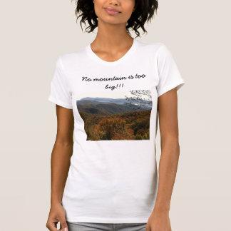 No Mountain Is Too Big!!! T-shirts