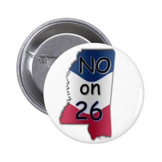No MS 26 Pinback Buttons