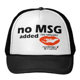 no msg added trucker hat