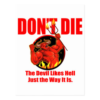 No muera… postal