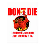 No muera… tarjetas postales