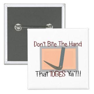 No muerda la mano esa los TUBOS YA Pin Cuadrada 5 Cm
