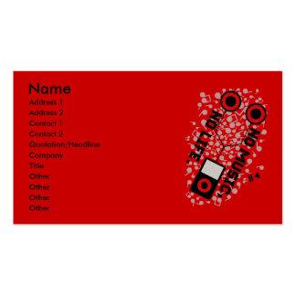 NO MUSIC, NO LIFE. BUSINESS CARD