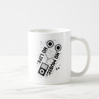 NO MUSIC, NO LIFE. COFFEE MUG