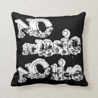 No Music No Life Pillow
