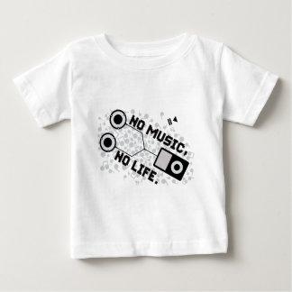 NO MUSIC, NO LIFE. TEE SHIRT