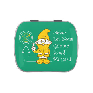No Mustard For Gnomes Candy Tin
