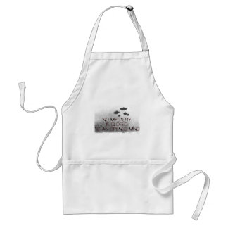 No Mystery is Closed to an Opened Mind Adult Apron