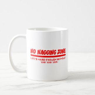 No Nagging Zone Coffee Mug