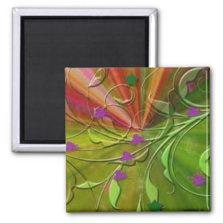 No Name Gifts 2 Inch Square Magnet