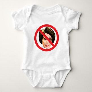 No Nancy Pelosi Baby Bodysuit