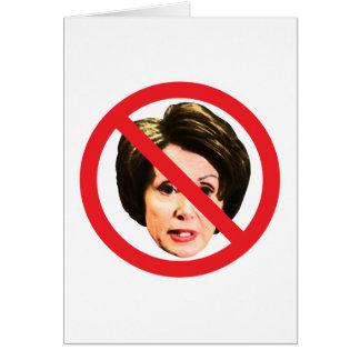 No Nancy Pelosi Card