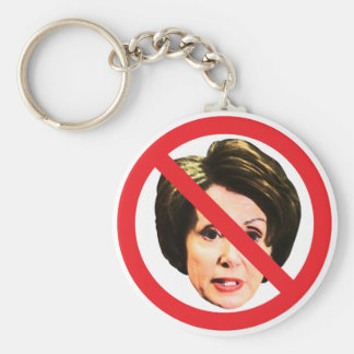No Nancy Pelosi Keychain