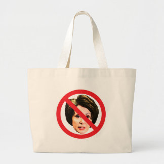 No Nancy Pelosi Tote Bags