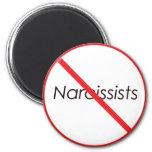 No Narcissists! Fridge Magnets