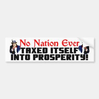 No Nation Ever! Bumper Sticker