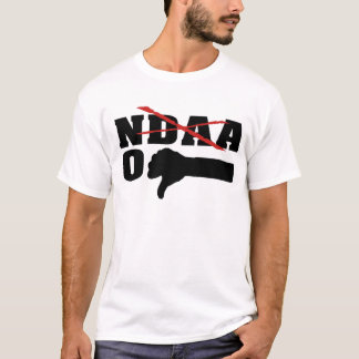 No NDAA (With Red X) T-Shirt