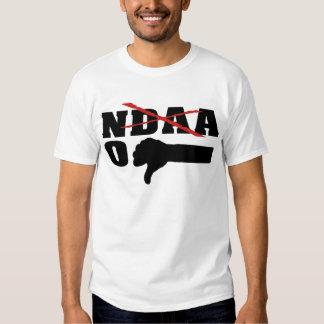 No NDAA (With Red X) T Shirts