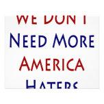 No necesitamos a más enemigos de América Anuncios