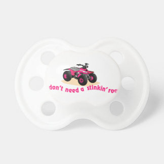 No necesite el camino chupetes para bebés