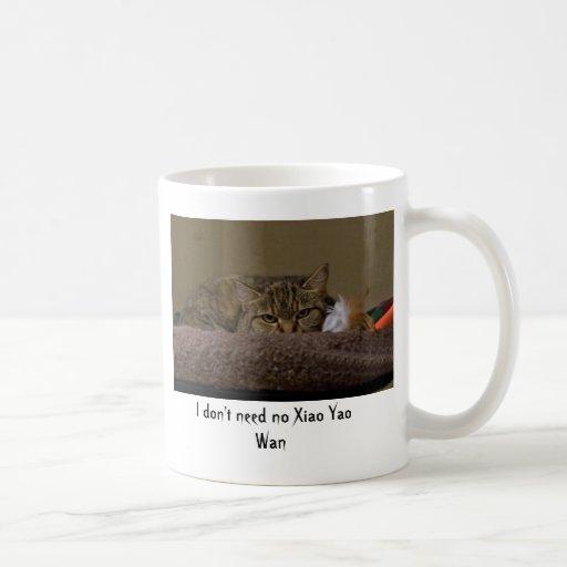No necesito a ningún Xiao Yao pálido Tazas De Café