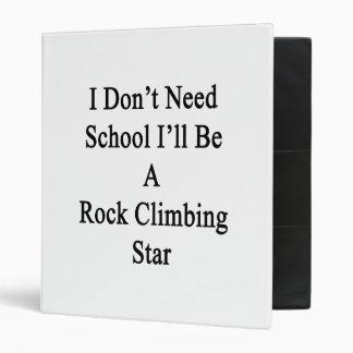 """No necesito la escuela que seré una estrella de la carpeta 1"""""""