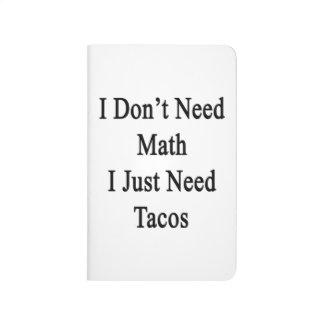 No necesito matemáticas que apenas necesito el Tac Cuadernos Grapados
