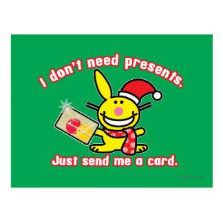 No necesito presentes postal