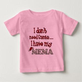 No necesito Santa, yo tengo mi Mema Tee Shirts
