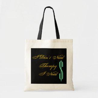 No necesito terapia que necesito el tote del bolsas de mano