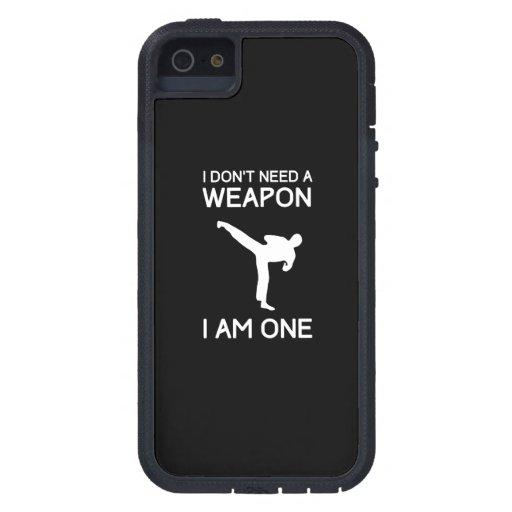 No necesito un arma iPhone 5 coberturas